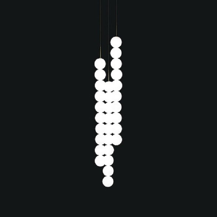Abacus Suspension 3x10 Spheres