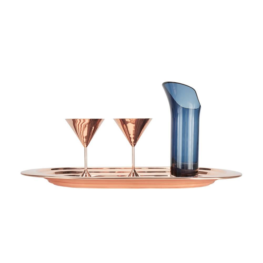 Plum Martini Glasses Set Of 2