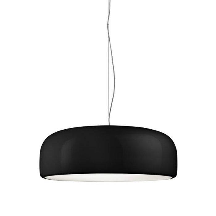 Smithfield Suspension Lamp Black Halogen