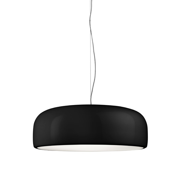 Smithfield Suspension Lamp Black Halogen
