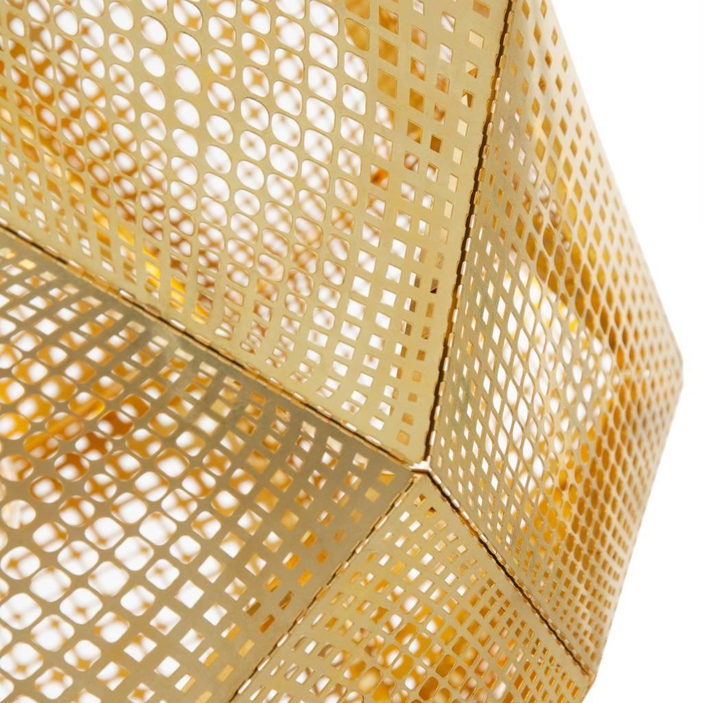 Etch Brass Pendant