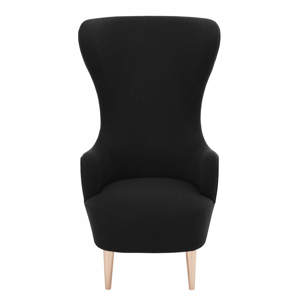 Wingback Chair - Copper Legs