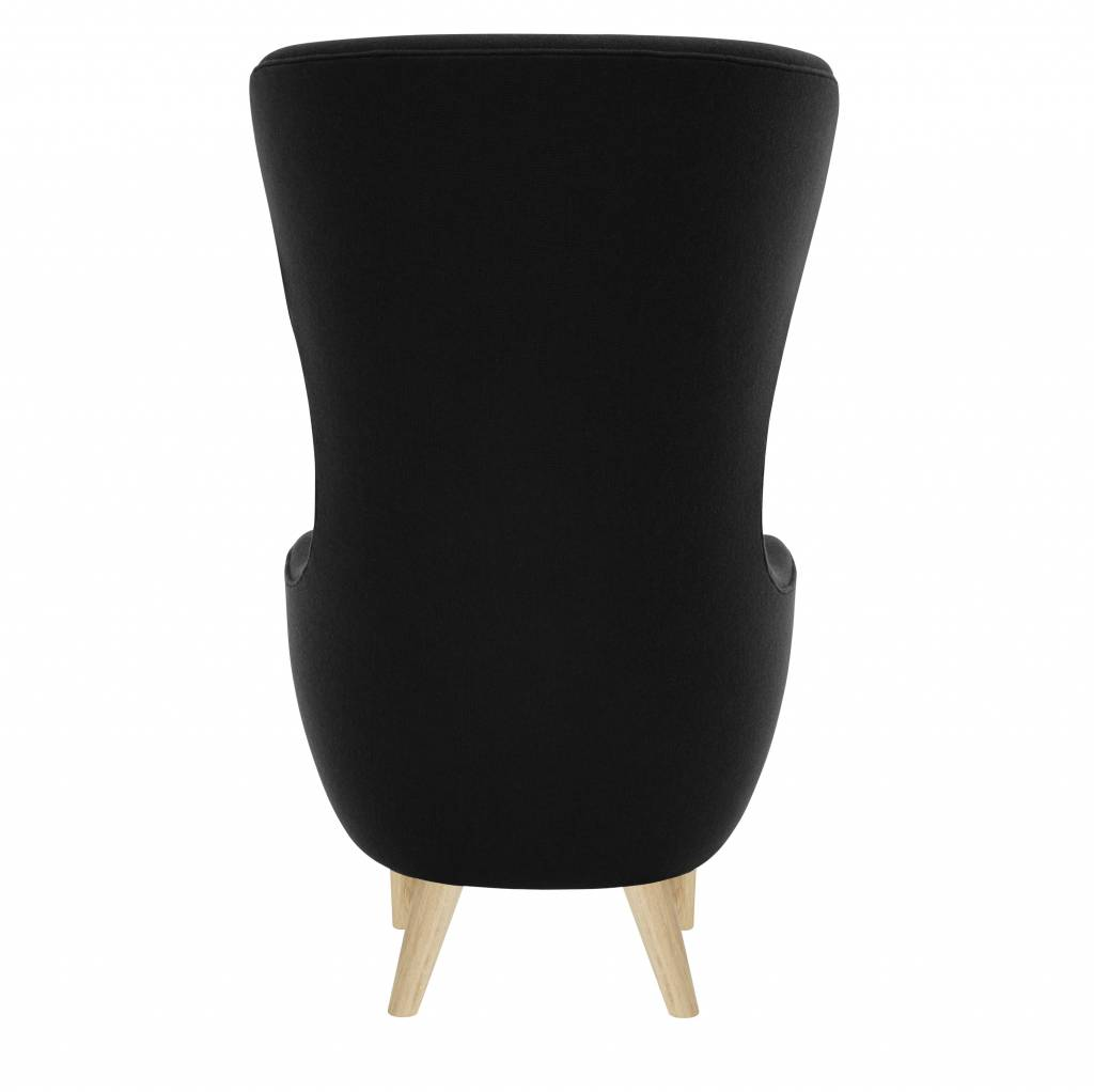 Wingback Chair - Natural Legs