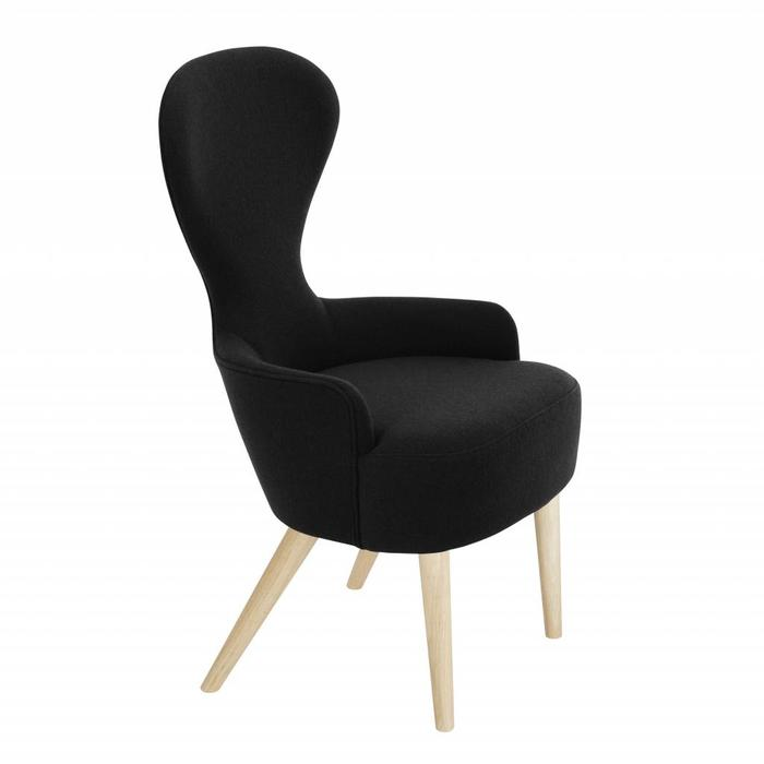 Wingback Dining Chair - Natural Legs