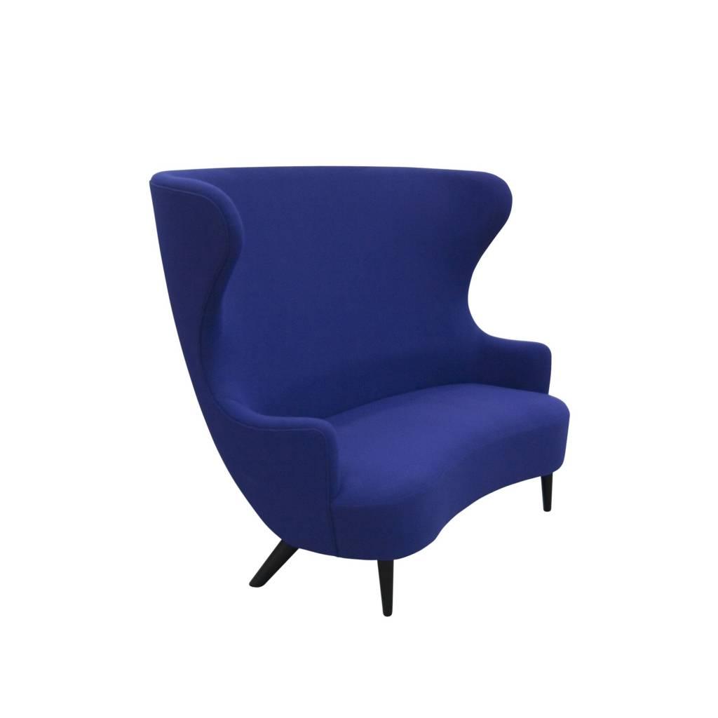 Wingback Sofa - Black Legs