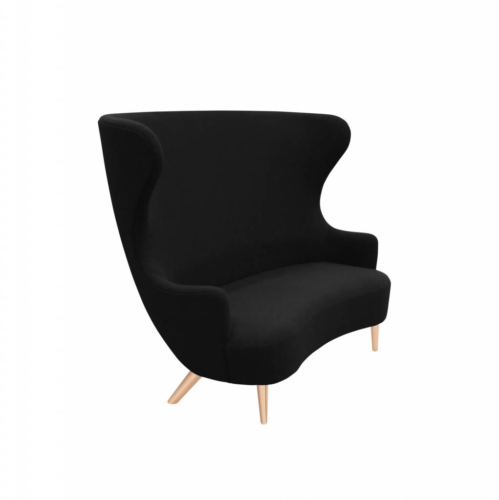 Wingback Sofa - Copper Legs