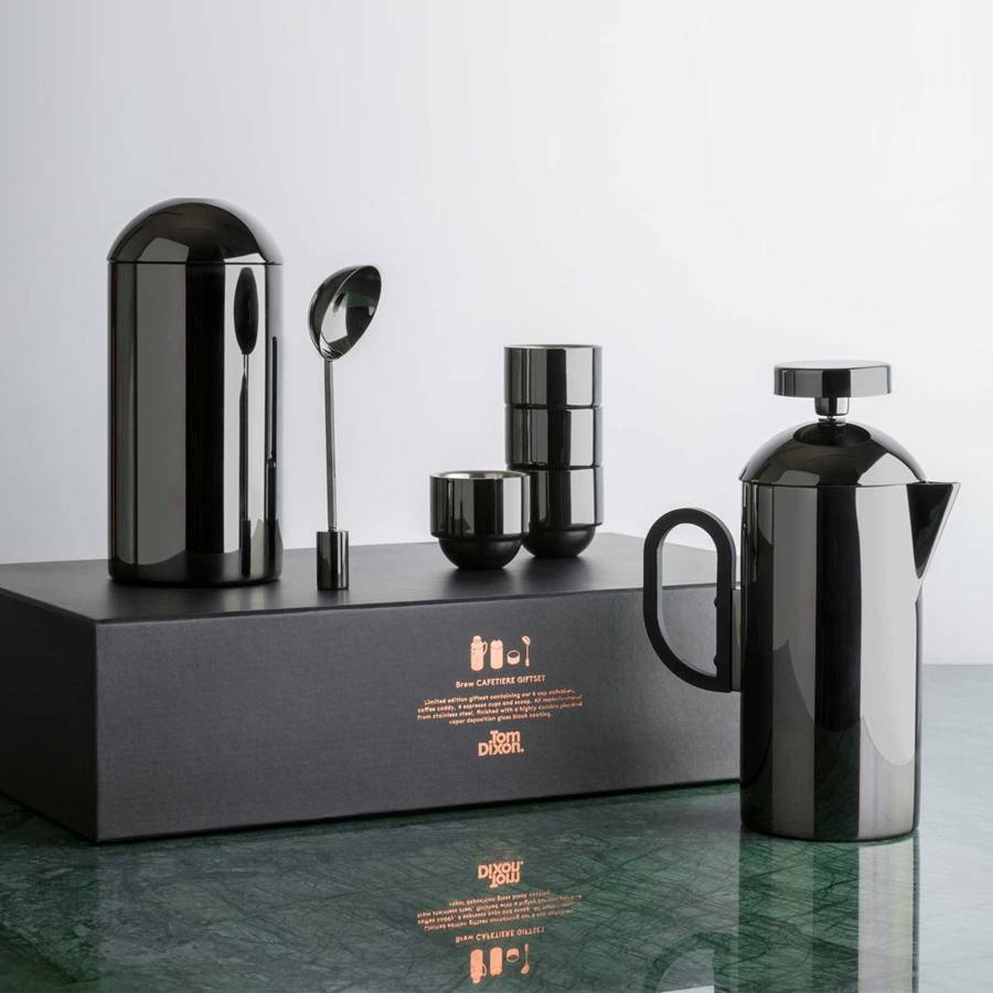 Brew Giftset Cafetiere Black