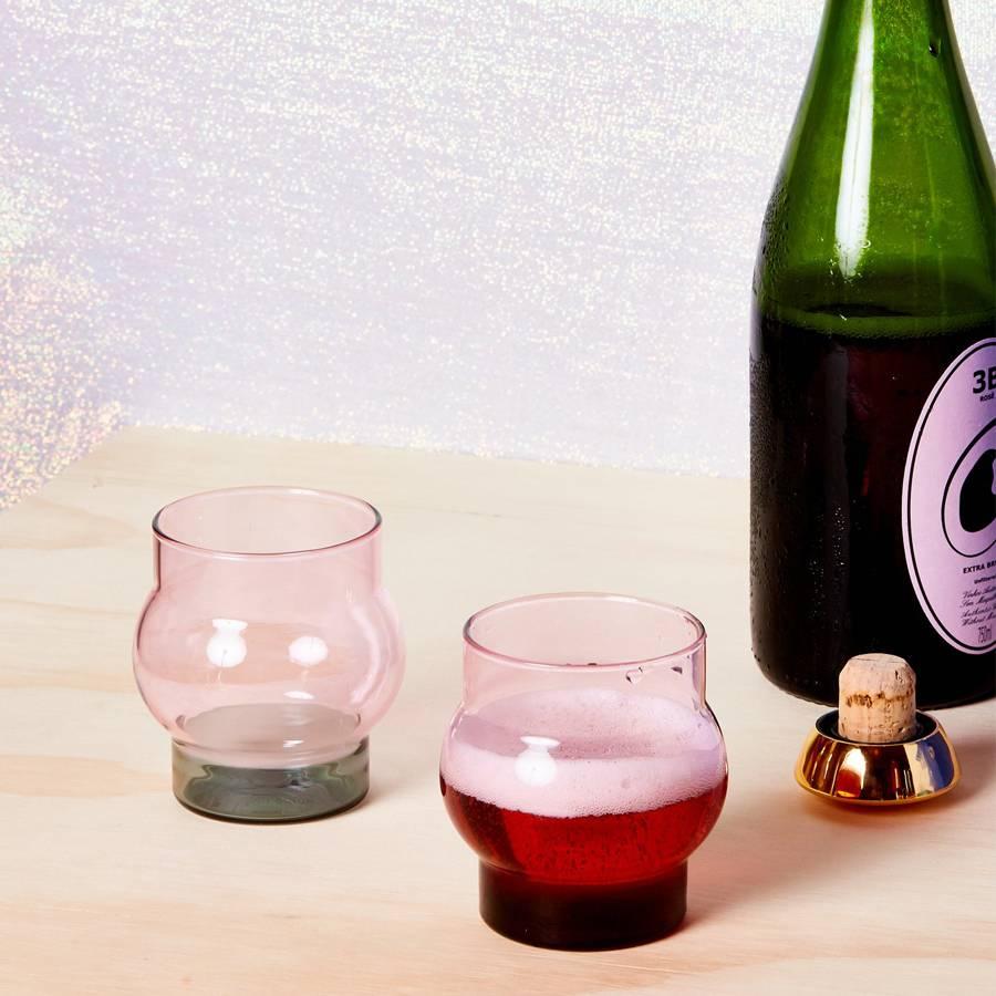 Bump Glass Set x 2