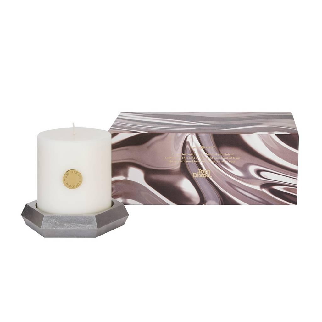 Alloy Pillar Candle Set