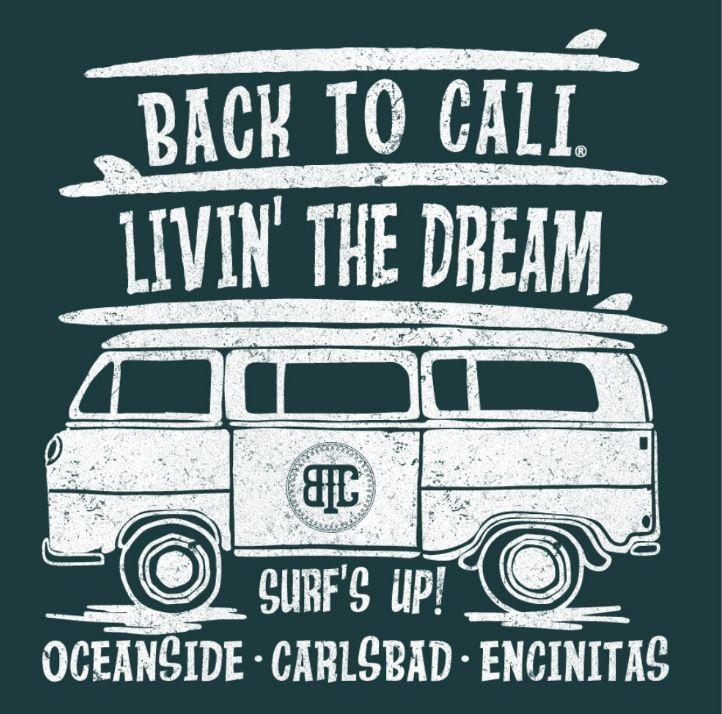 Surfs up Hoodie Carlsbad - Encinitas - Oceanside