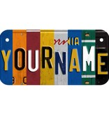 SPECIAL CUSTOM WOODEN LICENSE PLATE (ECOM) Classic Collage