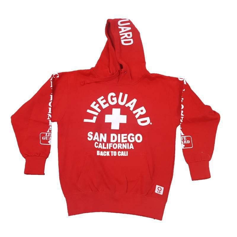 Lifeguard Hoodie San Diego Red