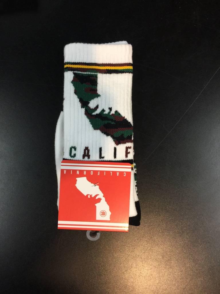Back To Cali Throwback Socks