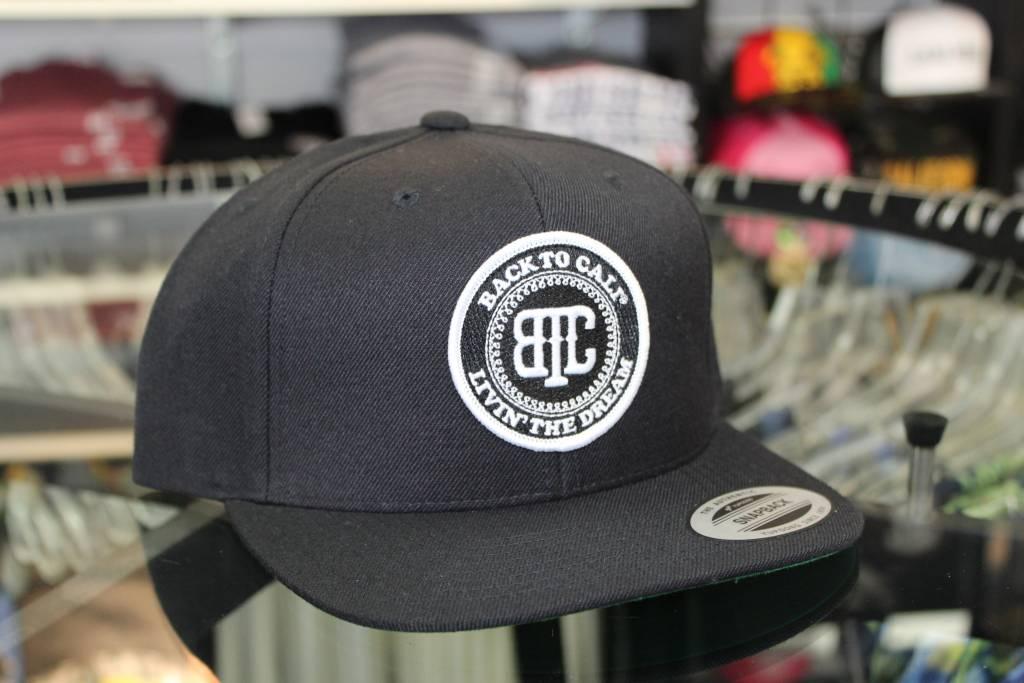 BackToCali BTC Round Patch Snap Back