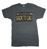 BTC License Plates California Charcoal Heather