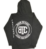 BackToCali Back To Cali Livin the dream Circle Patch - zip up California Charcoal