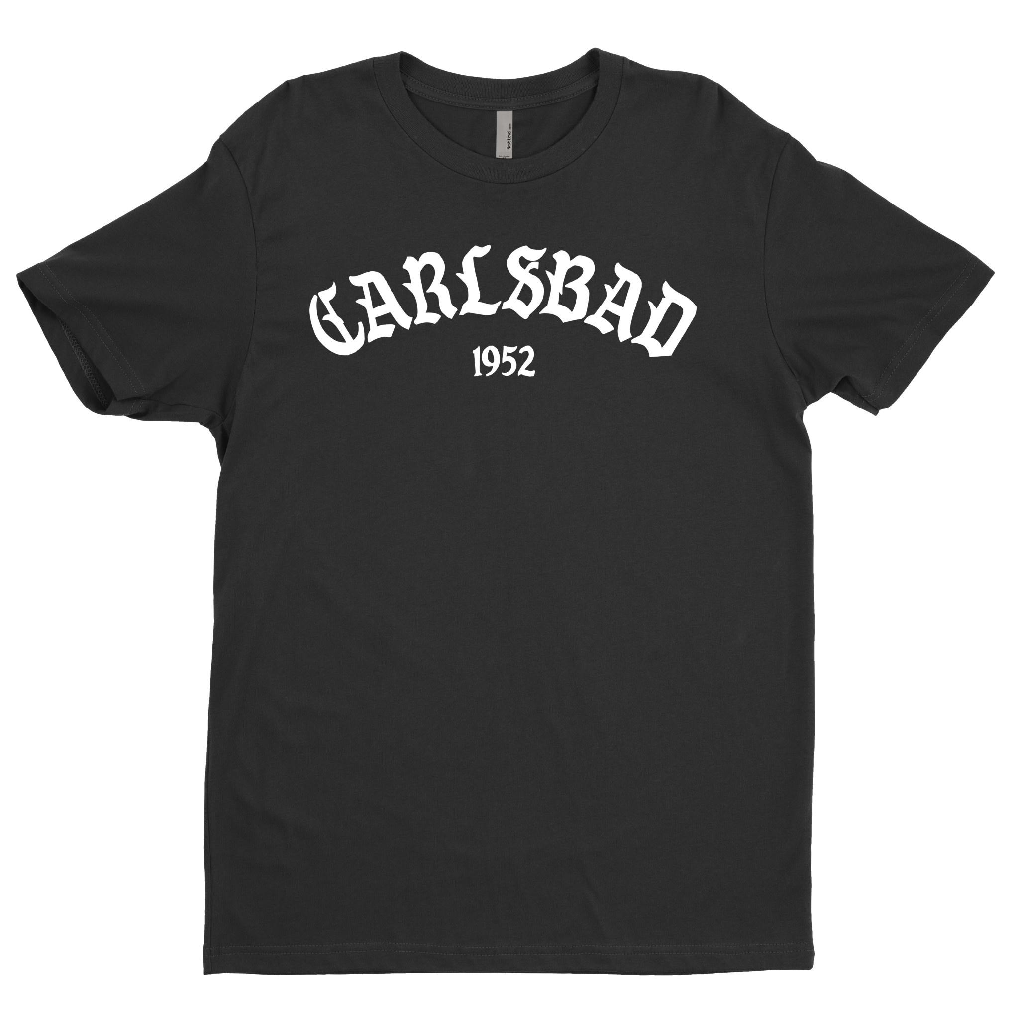 Old English BTC, Carlsbad Tees