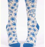Blue Q Atomic Mom Crew Socks