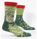 Blue Q Dad Joke  Men's Socks