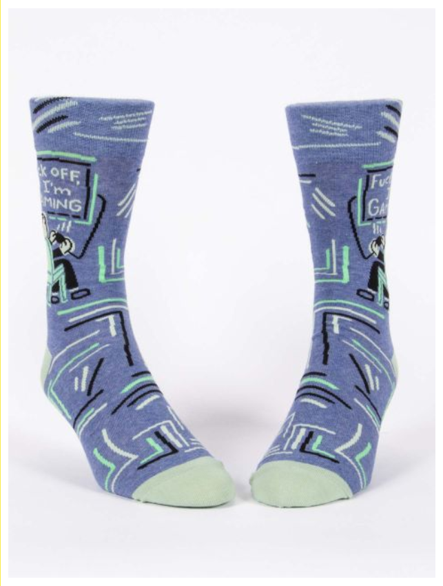 Blue Q FuckOff, I'm Gaming Men's Socks