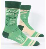 Blue Q Golf Socks Men's