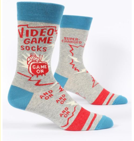 Blue Q Video Game Socks Men's Crew