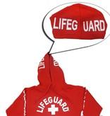 Lifeguard Hoodie Carlsbad  Red