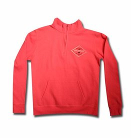 Diamond Palm Tree Encinitas 1/4 zip Fleece