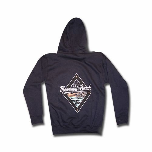 BackToCali Moonlight Beach Encinitas Diamond - Hoodie