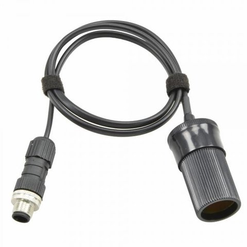 Prima Luce Eagle-compatible power cable for accessories with cigarette plug - 30cm - 8A