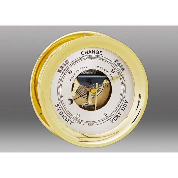 """CHELSEA CLOCK CO. CHELSEA 8.5"""" Ship's Bell Barometer"""
