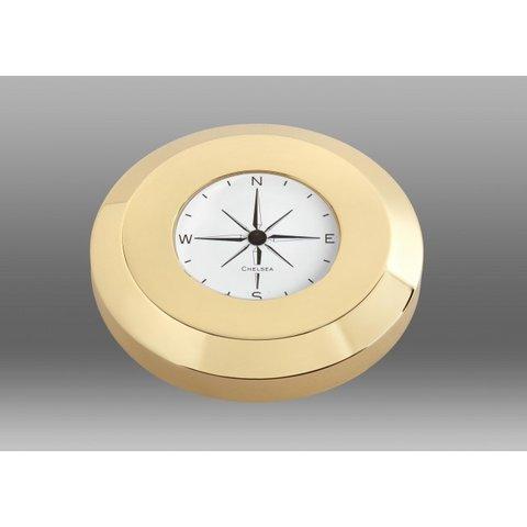 CHELSEA Compass Chart Weight, Brass Finish