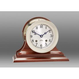 "CHELSEA CLOCK CO. CHELSEA 4.5"" Ship's Bell w/Hinge Bezel Nickel on Trad Base"