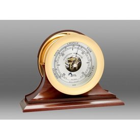 "CHELSEA CLOCK CO. CHELSEA 6"" Ship's Bell Barometer on Traditional Base"
