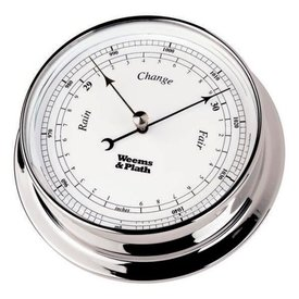 WEEMS & PLATH WEEMS & PLATH BAROMETER CHROME