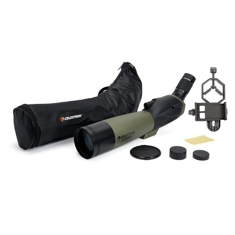 Celestron Ultima 80 - 45° with Smartphone Adapter