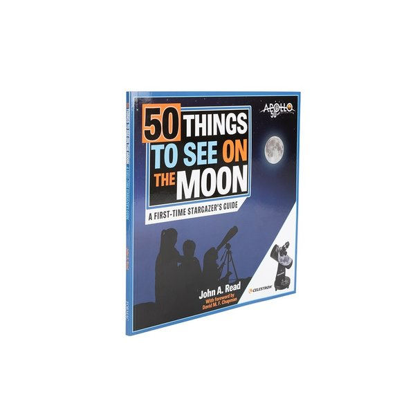 CELESTRON 50 Things to See on the Moon Book
