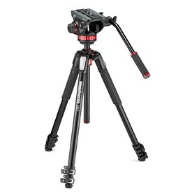 Manfrotto 055 Tripod with Large Fluid Head KIT
