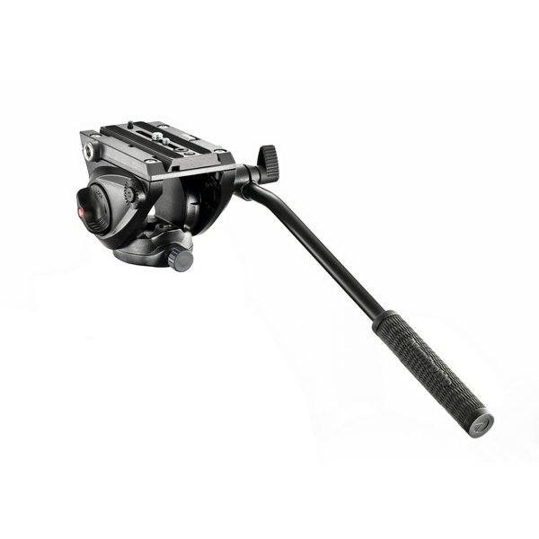 MANFROTTO DISTRIBUTION Manfrotto 500 Pro Fluid Video Head with Flat Base
