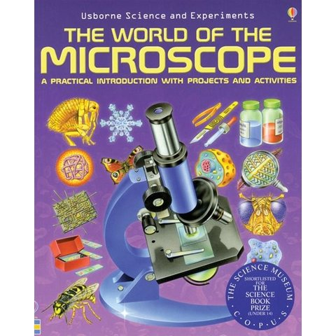 """CELESTRON """"The World of The Microscope"""" book"""