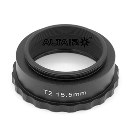 Altair Altair 15.5mm T2 Spacer Extension Tube Ring - Easy Grip for Astro cameras