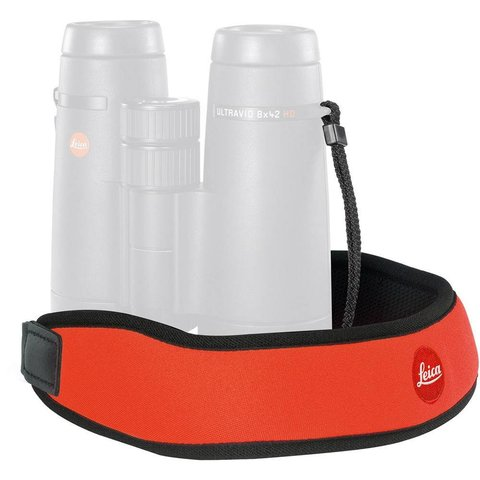 LEICA Neoprene Bino Neck Strap - Juicy Orange
