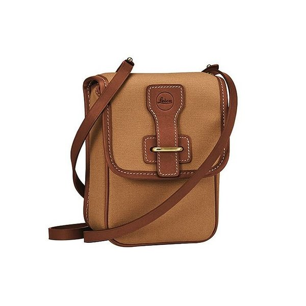 LEICA CAMERA LEICA ANEAS/Binocular Bag- 42mm- Light Brown