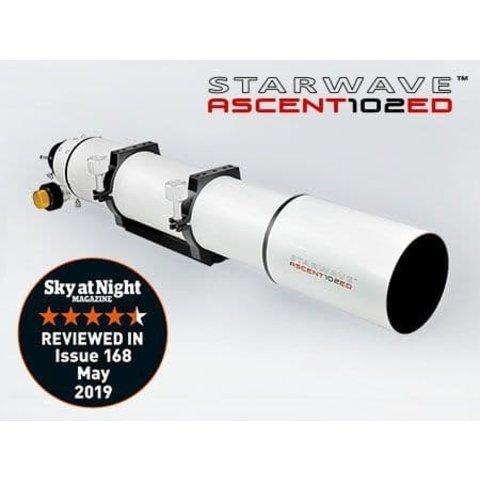 Altair Starwave ASCENT 102ED F7 Refractor Geared Focuser