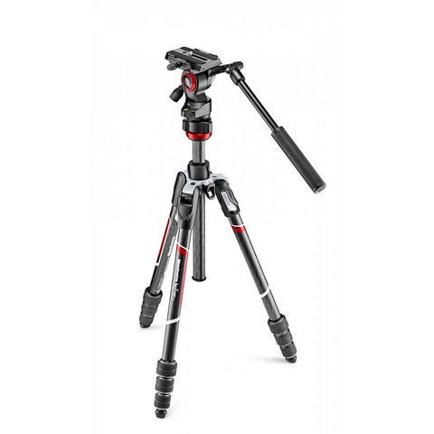 Manfrotto Befree Live CF tripod w/ fluid head