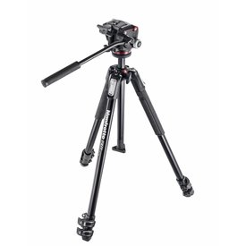 MANFROTTO DISTRIBUTION MANFROTTO MK190 Tripod  with Fluid Head Kit