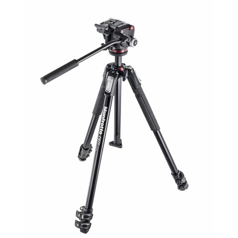 MANFROTTO MK190 Tripod  with Fluid Head Kit