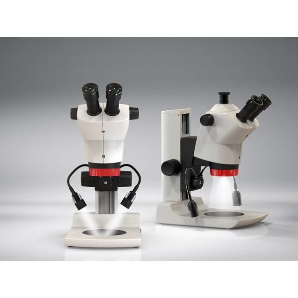 LABO AMERICA INC. Labomed Luxeo 6Z Stereo Zoom Microscope with Binocular Head