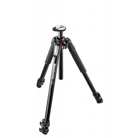 MANFROTTO 055 3 Section Aluminum Tripod