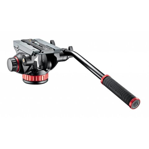 Manfrotto MVH502AH Fluid Video Head with Flat Base